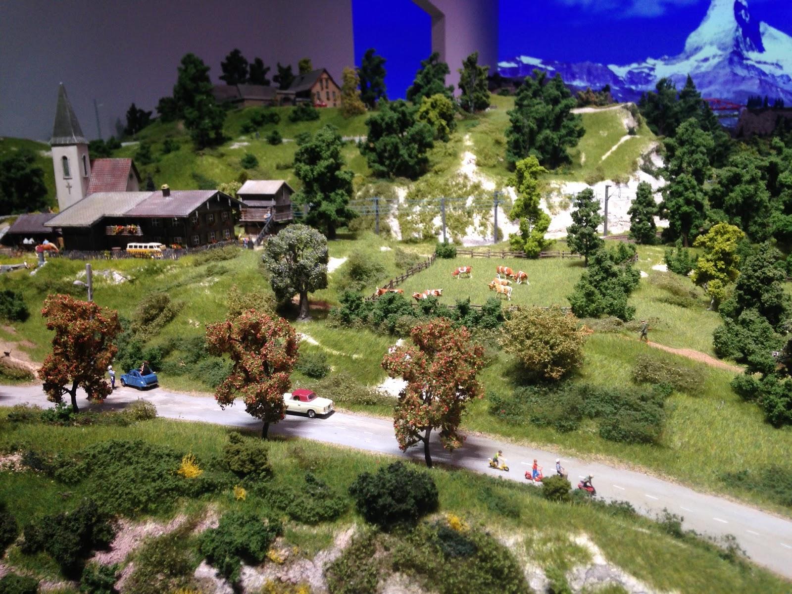 Mini World Lyon, paysage de campagne