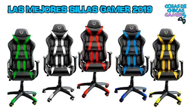 Las mejores sillas gamer 2019