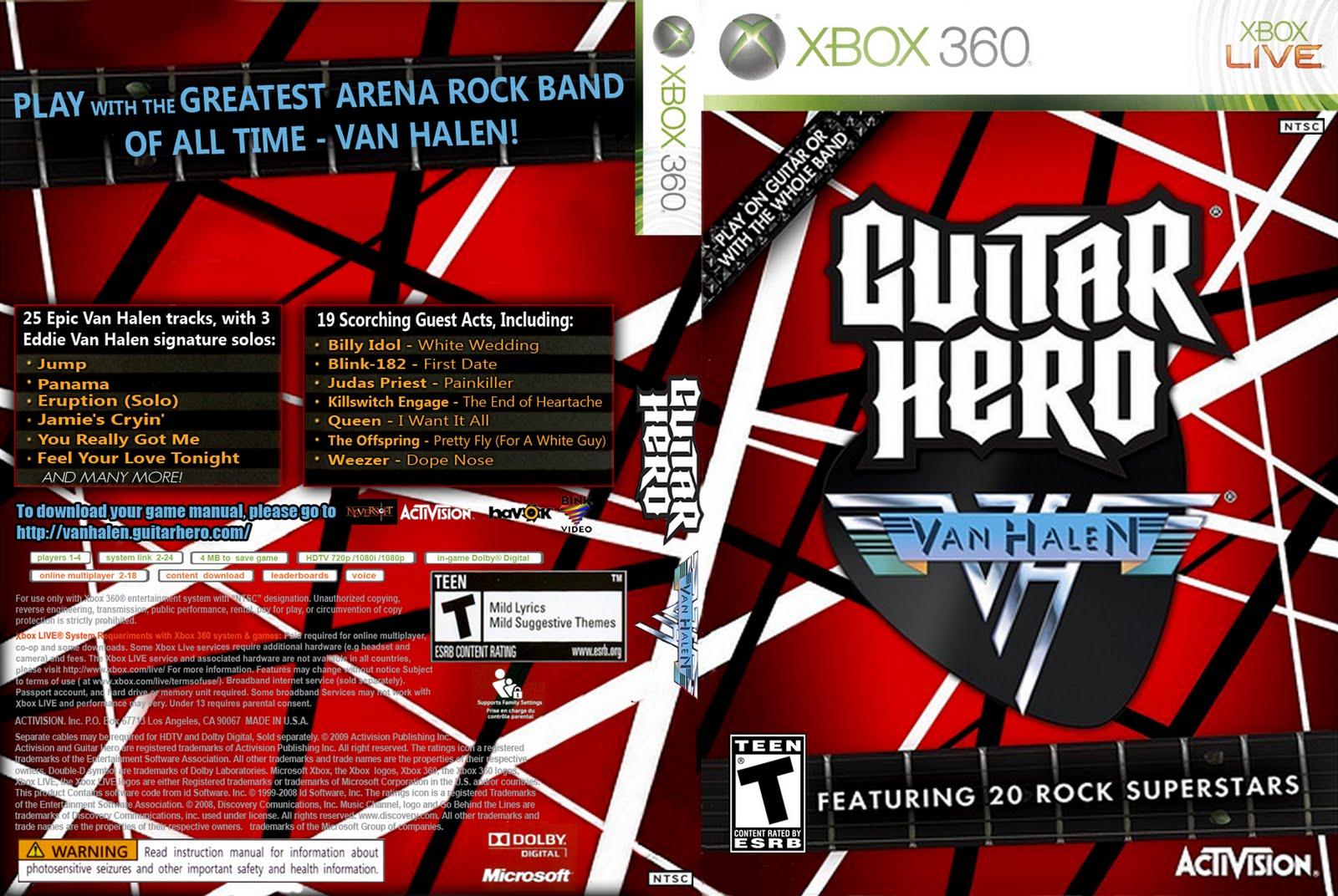 Guitar Hero Van Halen Xbox 360 Song List