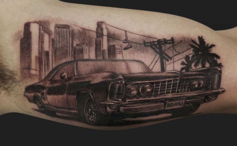 Body Art, Cheryl Cole Tattoo