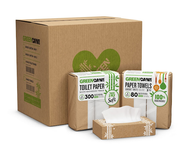 Eco review, Greencane paper biodegradable toilet paper, kitchen roll and tissues. secondhandsusie.blogspot.com #review #ad #greencane #biodegradable #ecofriendly #ecoblog