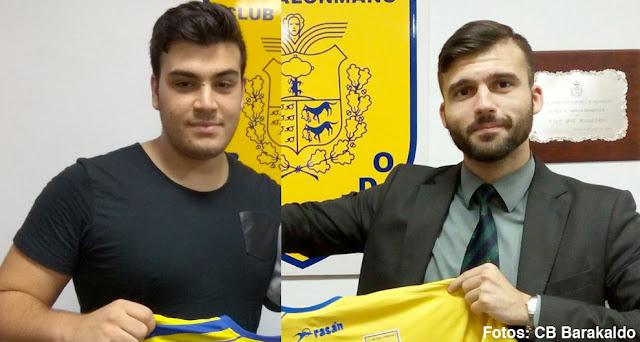Balonmano | Markel Moreno y Pablo Alonso Isa cumplirán su tercera temporada en Barakaldo