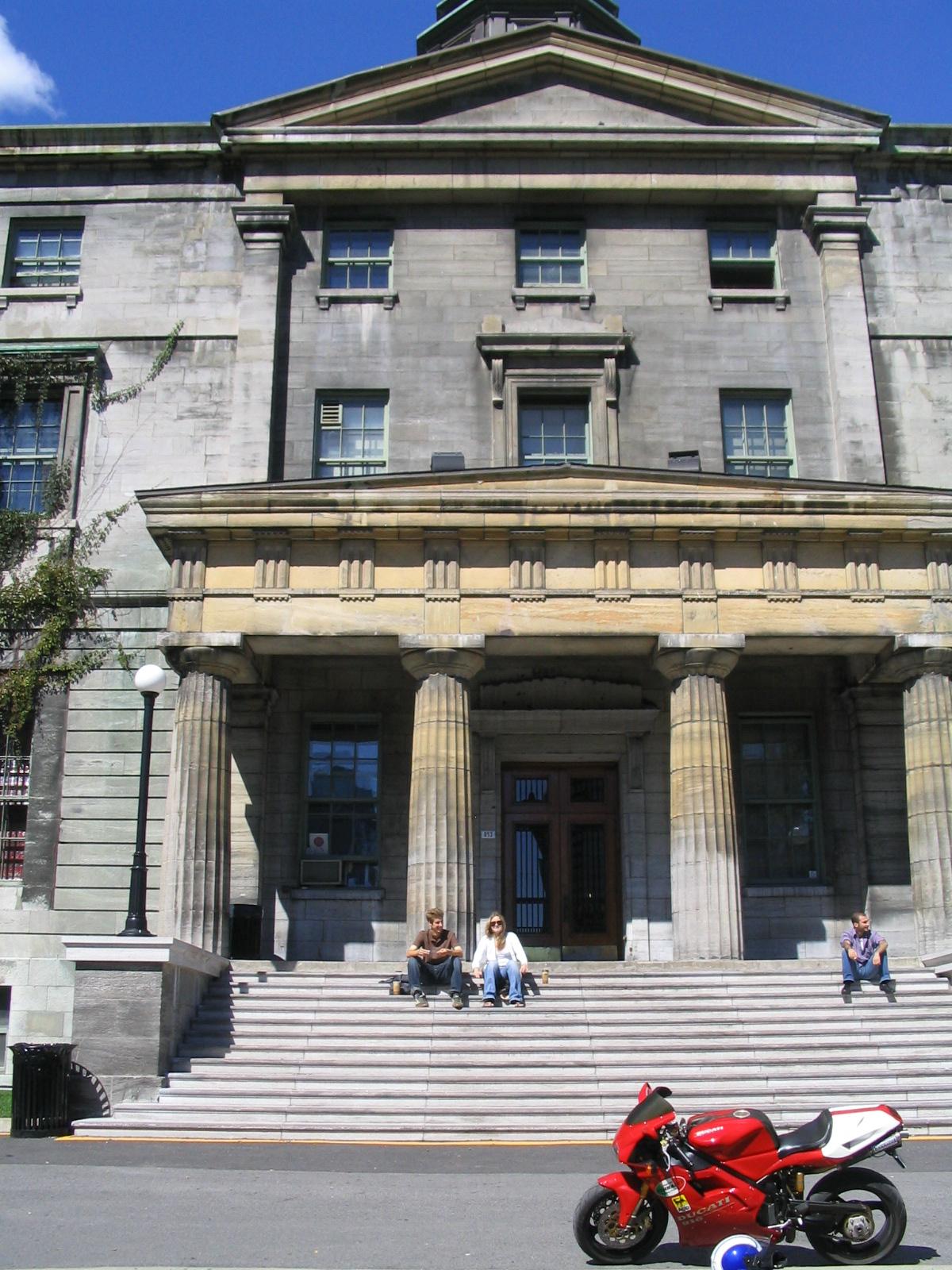 Ducati 916 McGill Campus
