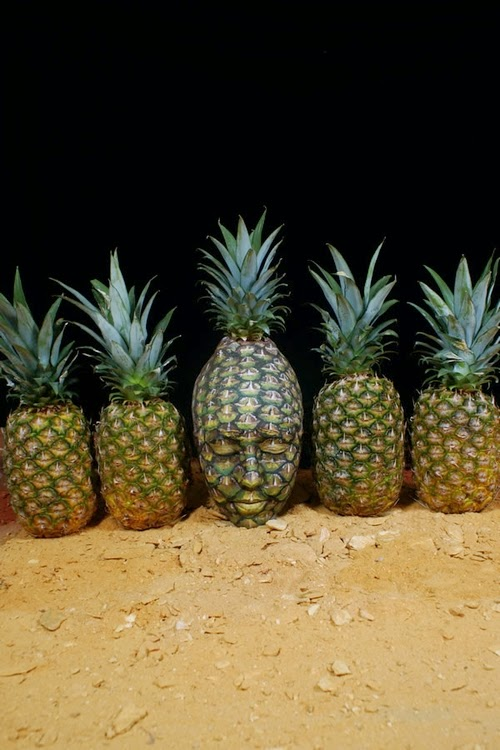 11-Pineapple-Body-Paint-Johannes-Stötter-Musician-Fine-Art-Body-Painter-www-designstack-co