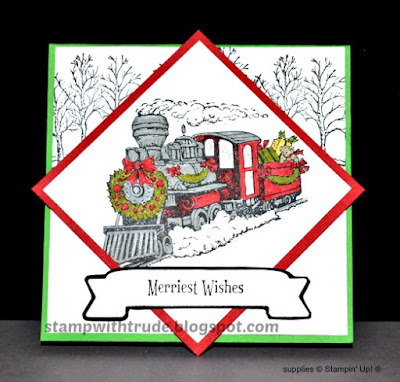 November Card Club, Stampin' Up!, Stamp with Trude, Christmas Magic