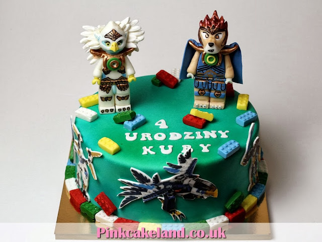Lego Chima Cakes in London