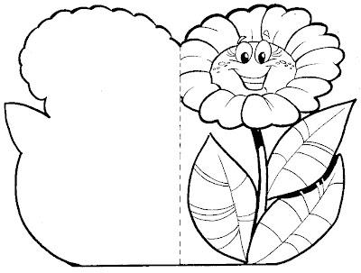 tarjeta flores margarita