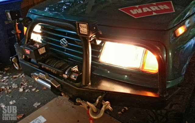 Stock Suzuki Sidekick lights