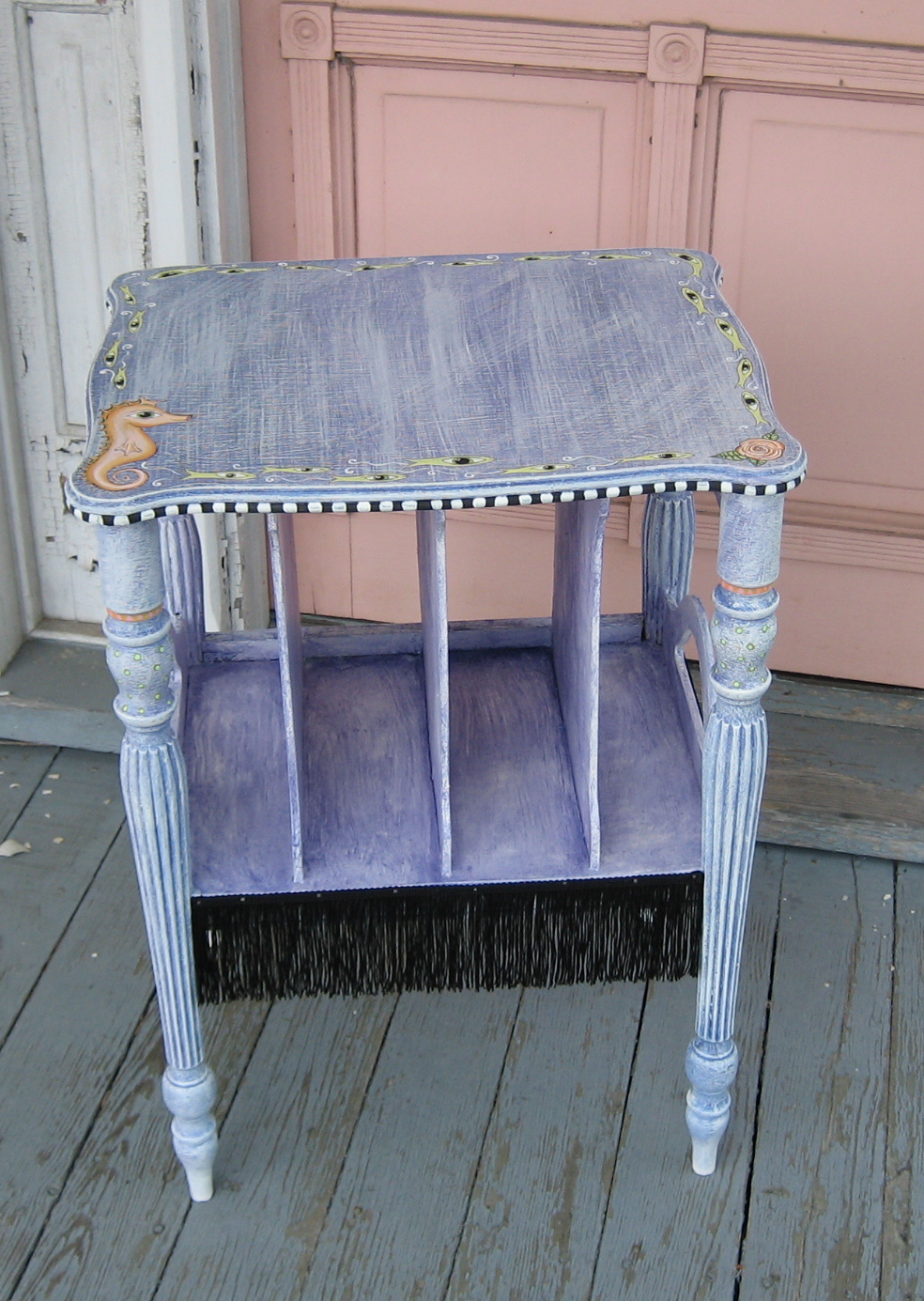 patriciamonkey some new painted furniture Painted Furniture Folk Art Chicken Fun Hand Painted Furniture