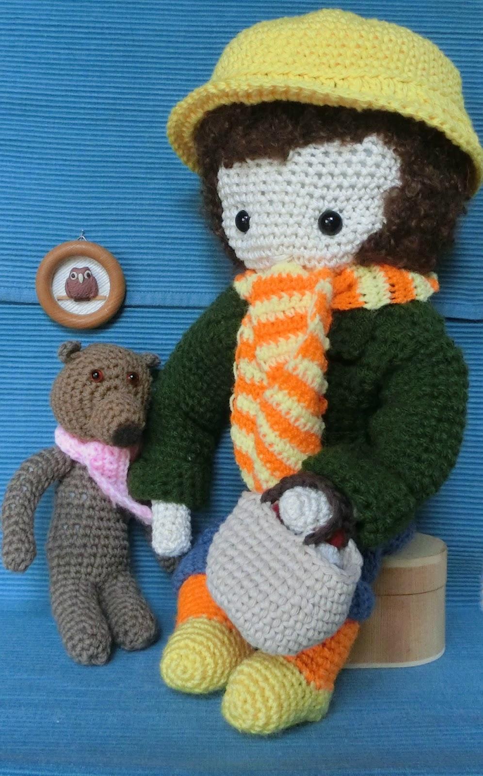 Ein Kleiner Blog Meine Lieblingspuppe Zum Häkeln Isabelle
