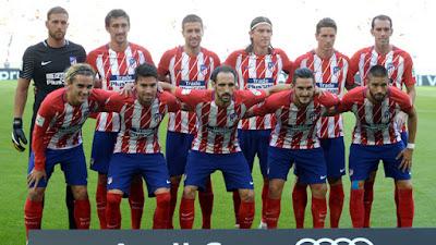 Daftar Skuad Pemain Atletico Madrid
