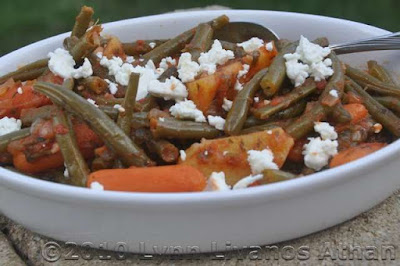 International food blog: AMERICAN:  Green Bean Casserole Substitute