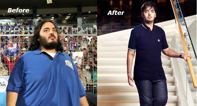how anant ambani lose 108 kg