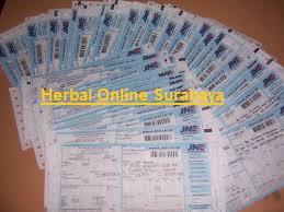 Nomor resi jne bukti pengiriman barang dari toko herbal online surabaya