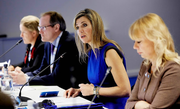 Queen Maxima is member of the Dutch committee for entrepreneurship and finance