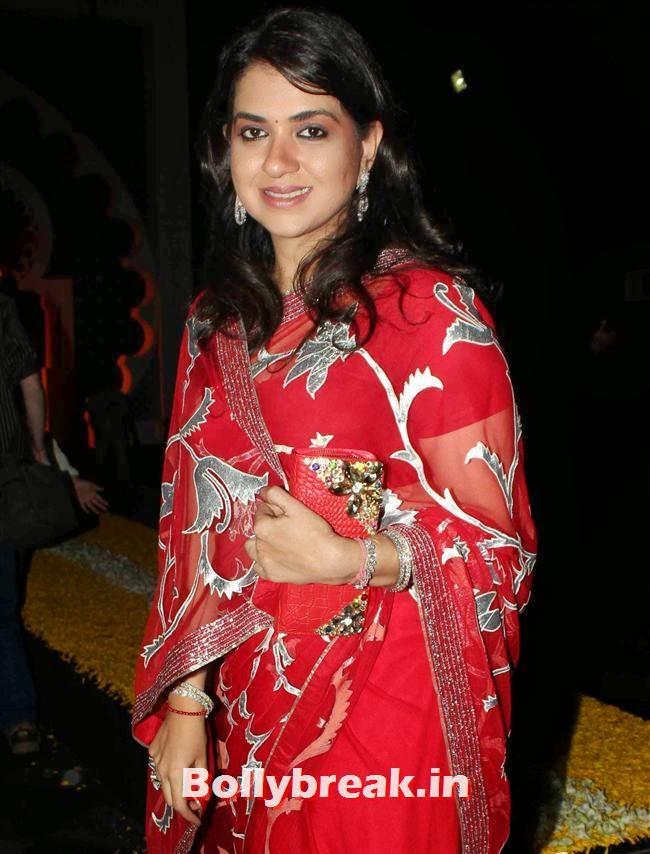Shaina NC, Bollywood Celebs at India Bridal Fashion Week