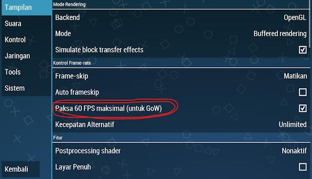 60FPS maksimal (GoW)