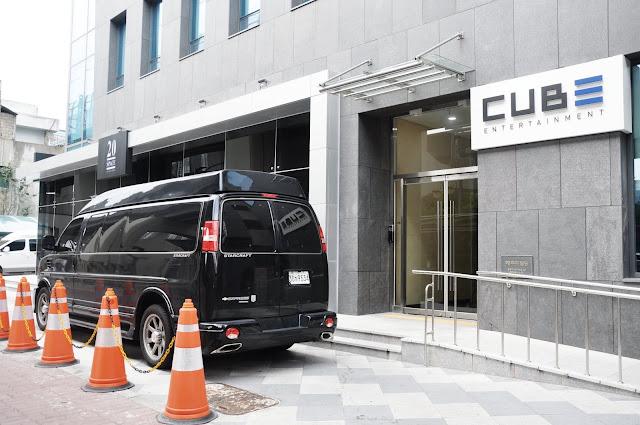 CUBE Entertainment (큐브 엔터테인먼트) & 20 Space Cafe (20 스페이스)