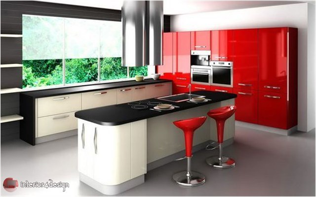 Colorful Kitchen Designs 7