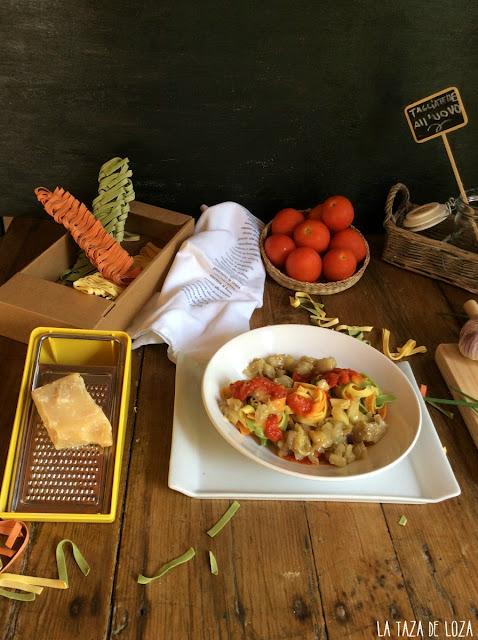pasta-con-tomate-y-berenjenas