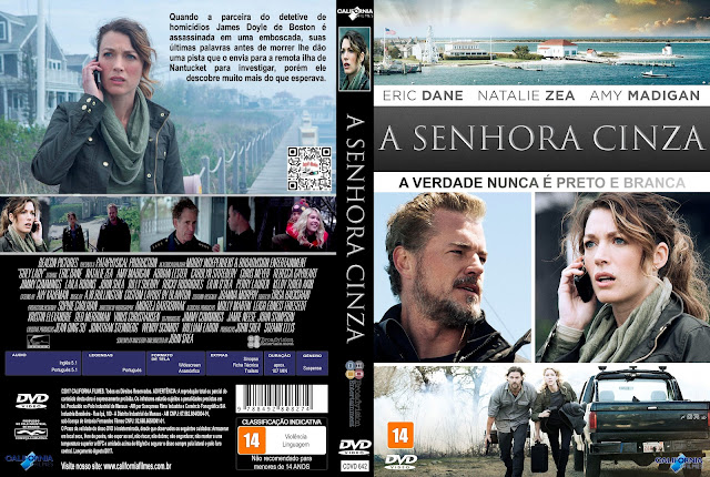 Capa DVD A Senhora Cinza [Exclusiva]