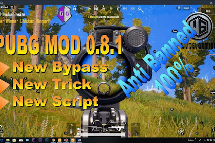 NEW MOD PUBG MOBILE 0.8.1.9350 NO BAN NO ROOT 2018