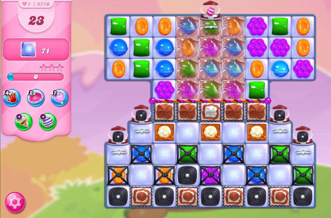 Candy Crush Saga level 5770