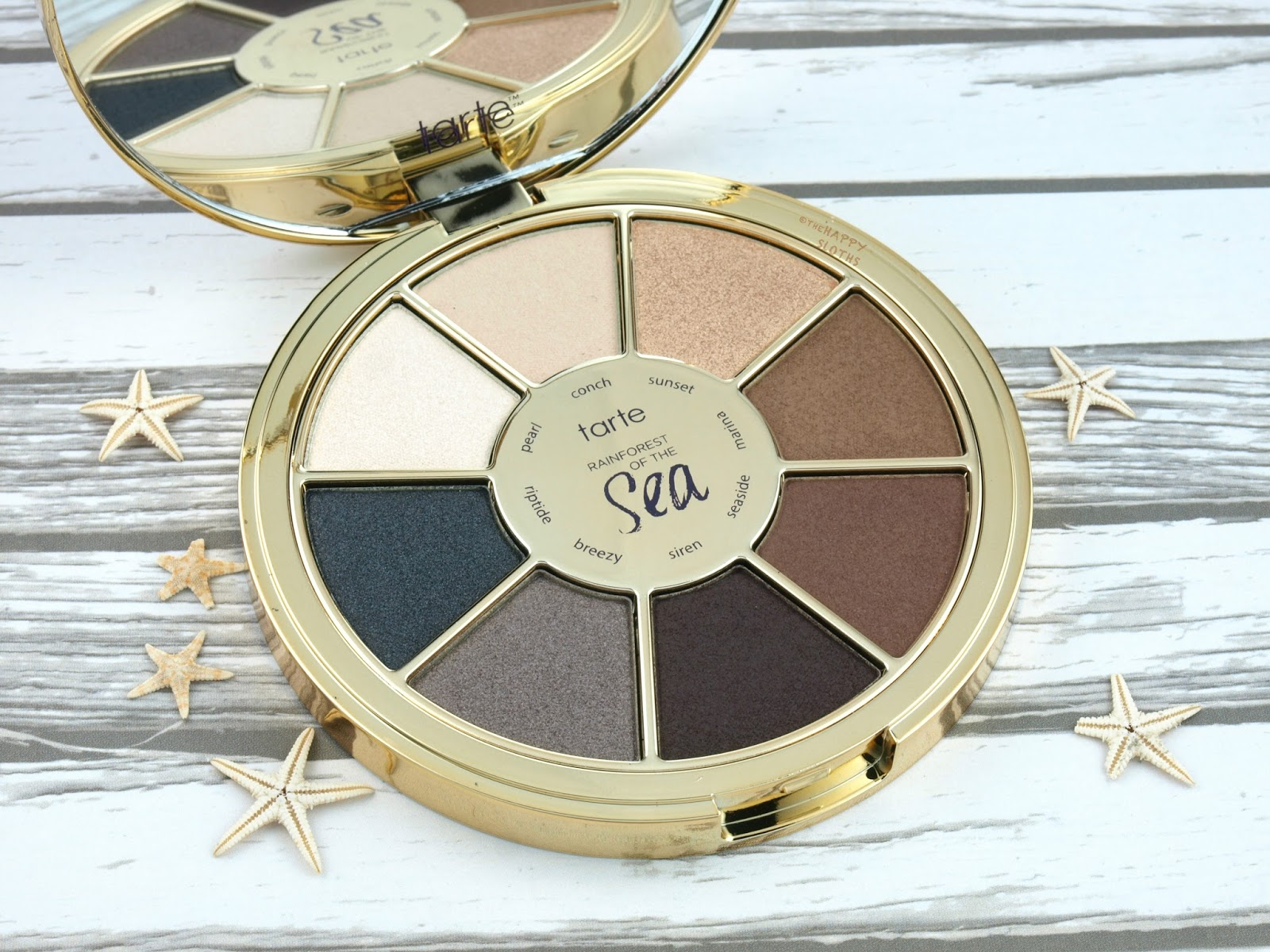 Tarte Rainforest of the Sea Vol. II Eyeshadow Palette: Review and Swatches