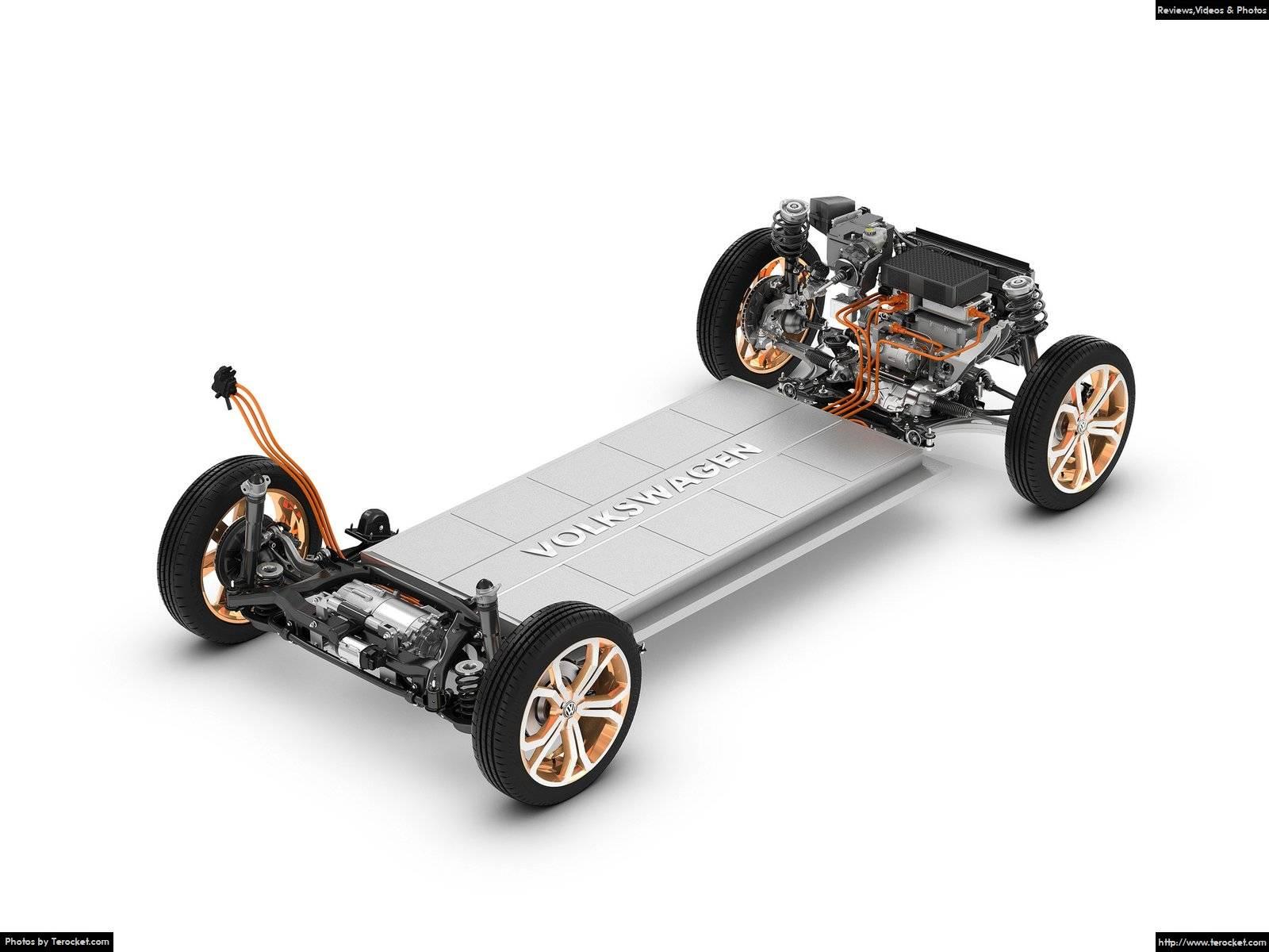 Hình ảnh xe ô tô Volkswagen Budd-e Concept 2016 & nội ngoại thất