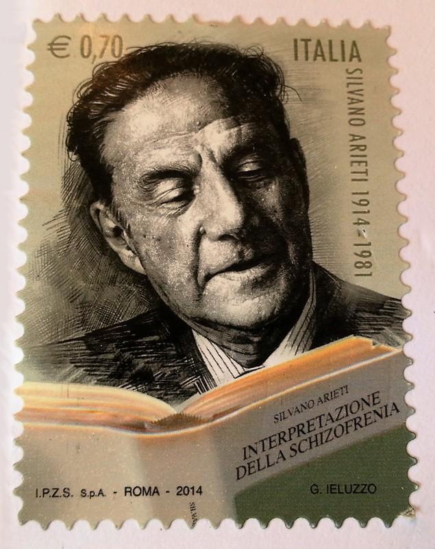 francobollo Silvano Arieti 1914 - 1981