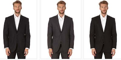 trajes chaqueta 2 botones