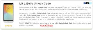 unlock bootloader lg l bello
