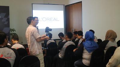 motivator sales, motivator beauty and health, motivator loreal, motivator terbaik, motivator indonesia, edvan m kautsar, training motivasi