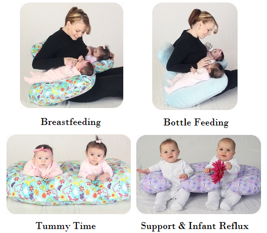 Twindustrious: Twin Z Nursing Pillow