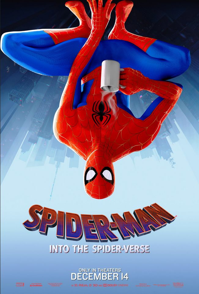 Spider-Man Into the Spider-Verse (2018) Hindi ORG [720p + 480p] HDRip 1GB Download