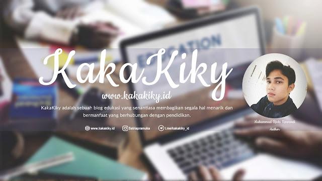 Halaman tentang Blog KakaKiky dan Sejarahnya