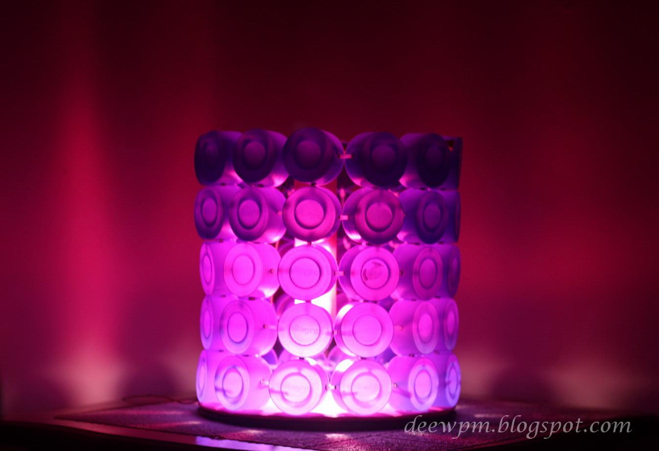 DIY Lampu Hias   Daur Ulang Tutup Botol Bekas  6b74ec049b