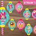 Shopkins Straw Toppers