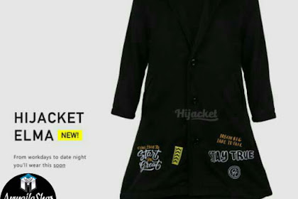 HIJACKET ORIGINAL ELMA BLACKBERRY [HITAM] MURAH