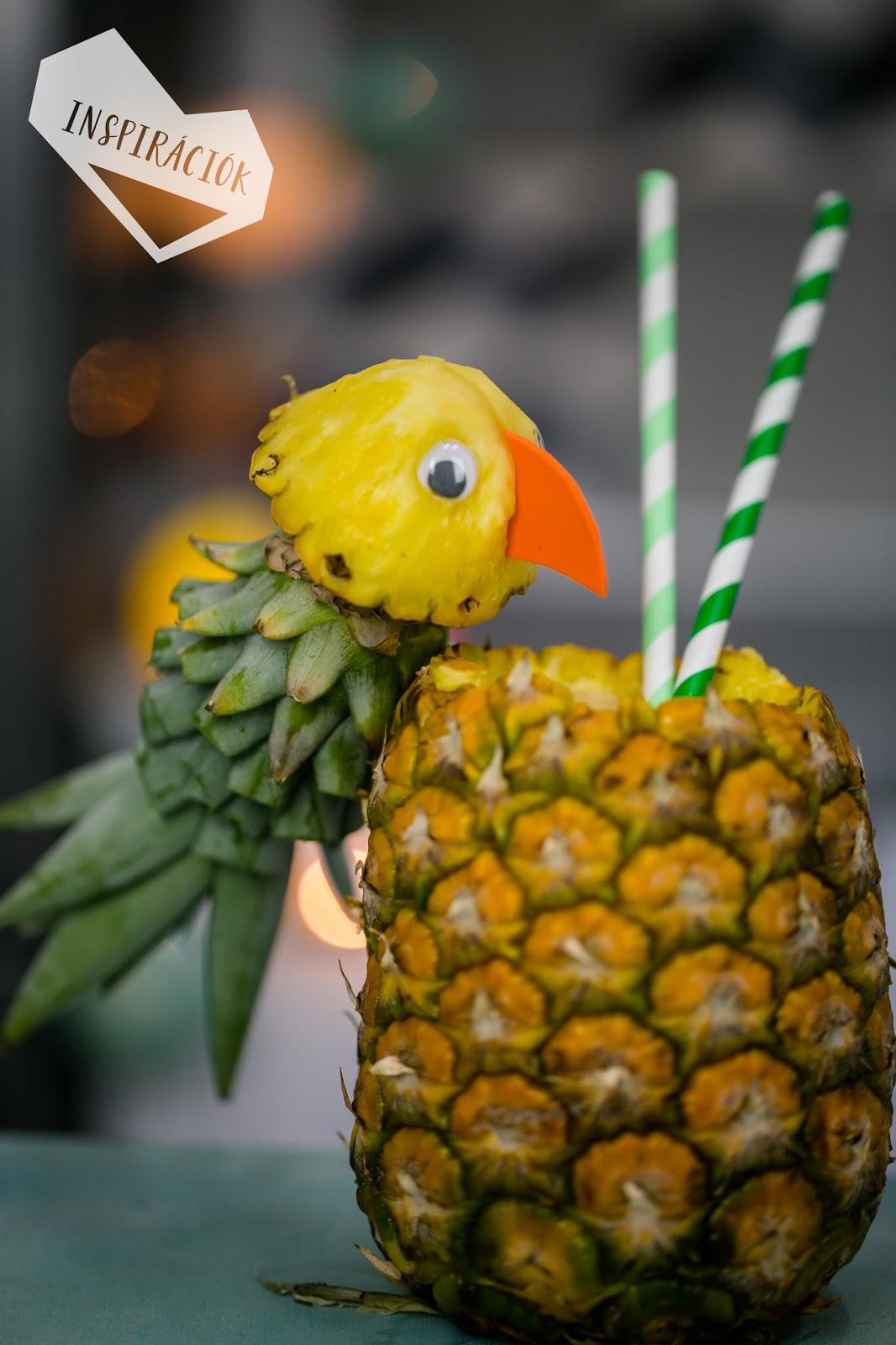 ananász papagáj