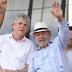 Lula fala para Ricardo que já esperava resultado e que voltará a viajar pelo Brasil