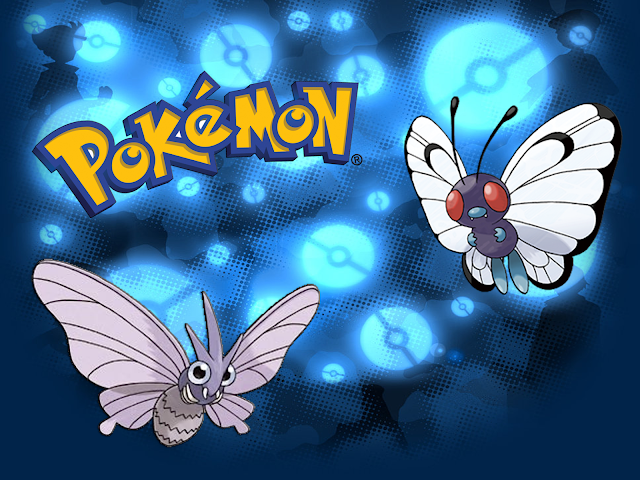 Butterfree e Venomoth