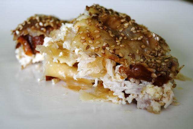 Empanada de Pasta Filo con Pollo (Tavuluk Börek)