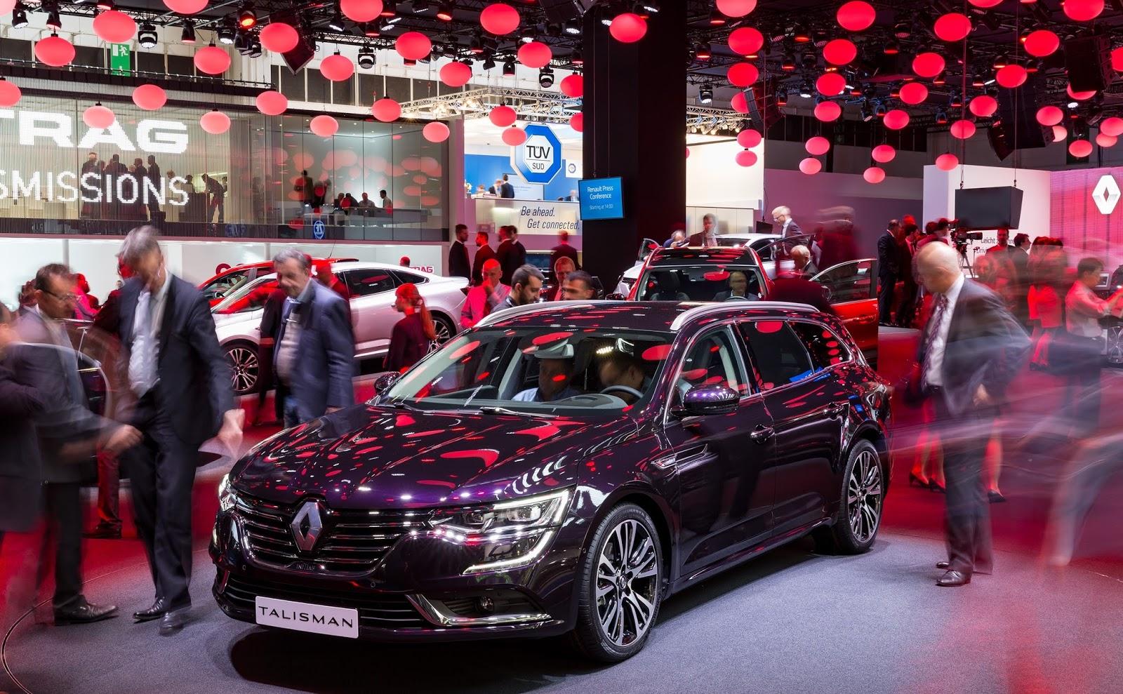 N%25CE%25AD%25CE%25BF Renault TALISMAN ESTATE Το νέο Renault Mégane παρουσιάστηκε στην διεθνή έκθεση της Φρανκφούρτης με έκδοση GT και 205 ίππους Renault, Renault Megane, Renault Talisman, Renault Talisman Estate, ΣΑΛΟΝΙ ΑΥΤΟΚΙΝΗΤΟΥΦΡΑΝΚΦΟΥΡΤΗΣ 2015