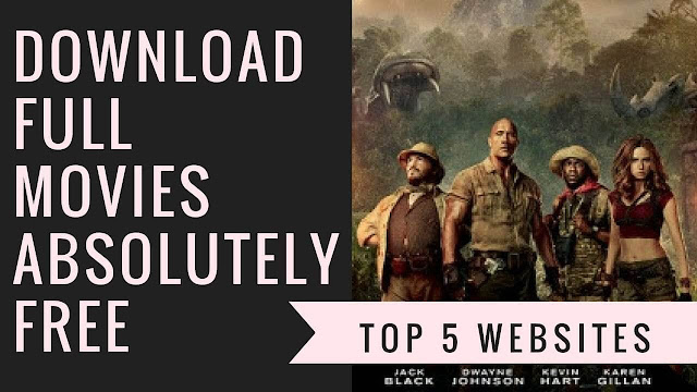 Top 5 Websites To Download Full Movies Absoulutely Free