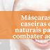 Máscaras caseiras e naturais para combater acne