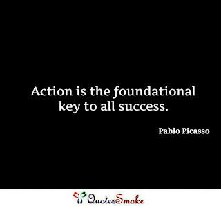 Inspirational Quote by Pablo Picasso