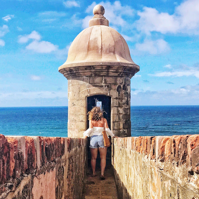 San Felipe del Morro Fortress, Old San Juan, Puerto Rico