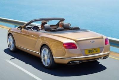 The Bentley Continental GT convertible
