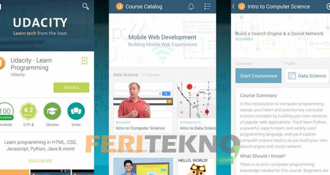 √5 Aplikasi Belajar Pemrograman & Coding di Android Untuk Pemula